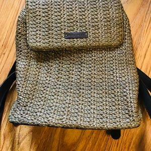 Nine West Woven Backpack